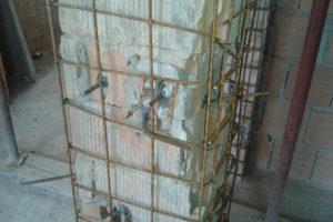 Ristrutturazioni rinforzo pilastri